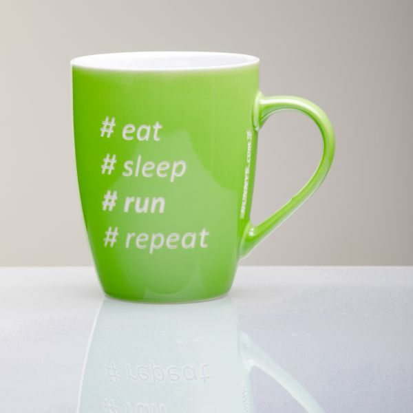 Motivationcup Eat-Sleep-Run-Repeat