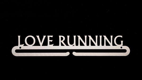 "Medaillenboard ""Love Running"""