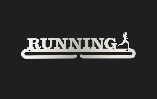 "Medaillenboard ""Running-Girl"""