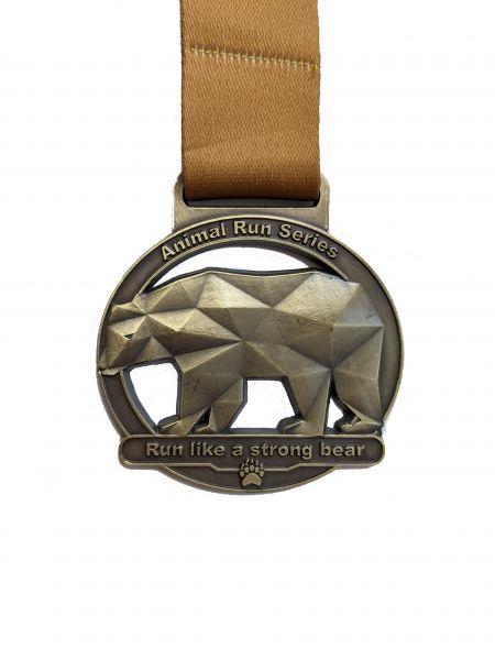 """VRUN - 1. Animal Run """"BEAR"""""""